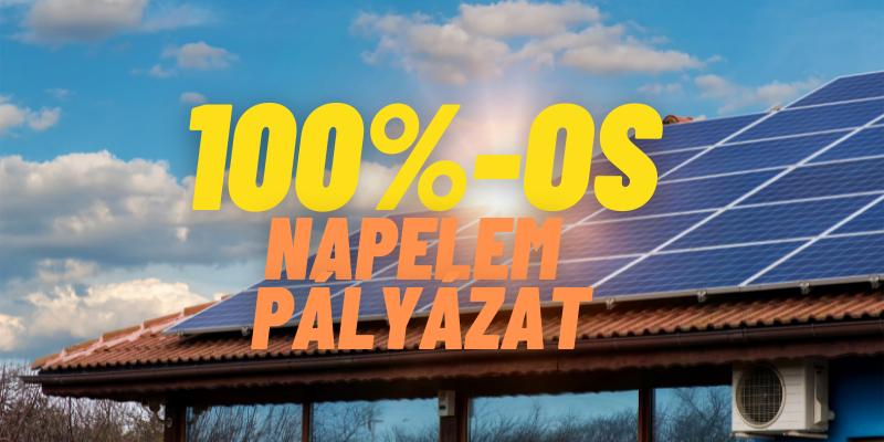 100 Os Napelem Palyazat2, Tiszta Energiák Kft.