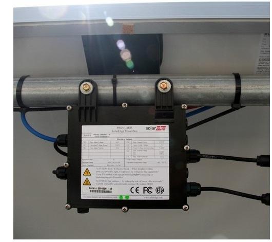 Solaredge Elektronika Tartószerkezeten, Tiszta Energiák Kft.