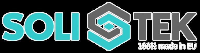 Solitek Logo 600 100eu White 768x203, Tiszta Energiák Kft.